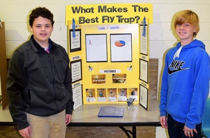 Magnolia Junior High Hosts Science Fair