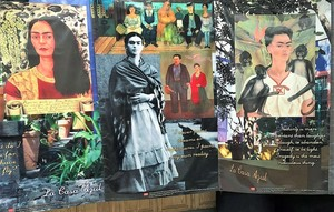MJHS Spanish I Students Host Frida Kahlo Exhibit