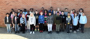 Central Elementary School Names February Students of the Month