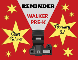 Reminder- Class Pictures to be Taken