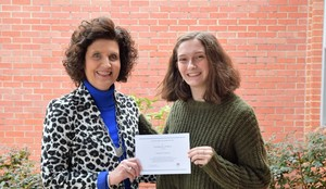GABRIELLE BULLIARD NAMED NATIONAL MERIT SCHOLARSHIP FINALIST