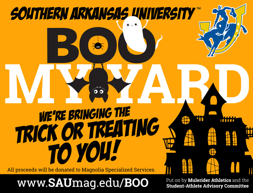 SAU Hosts BOO MY YARD