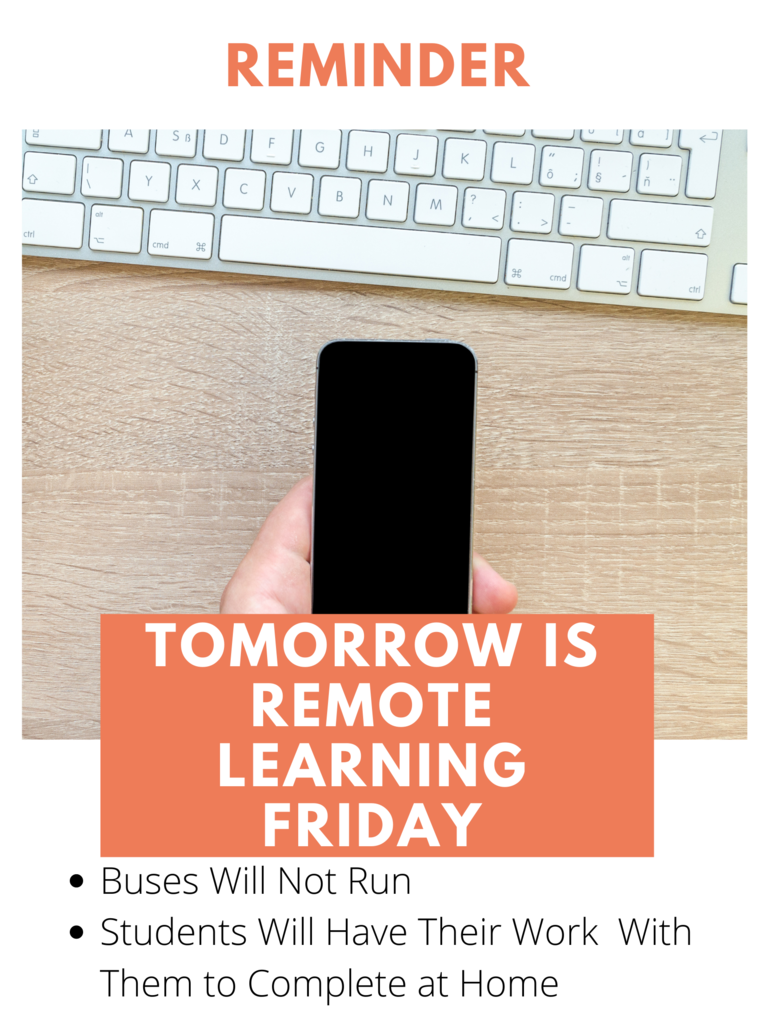 Remote Learning Reminder