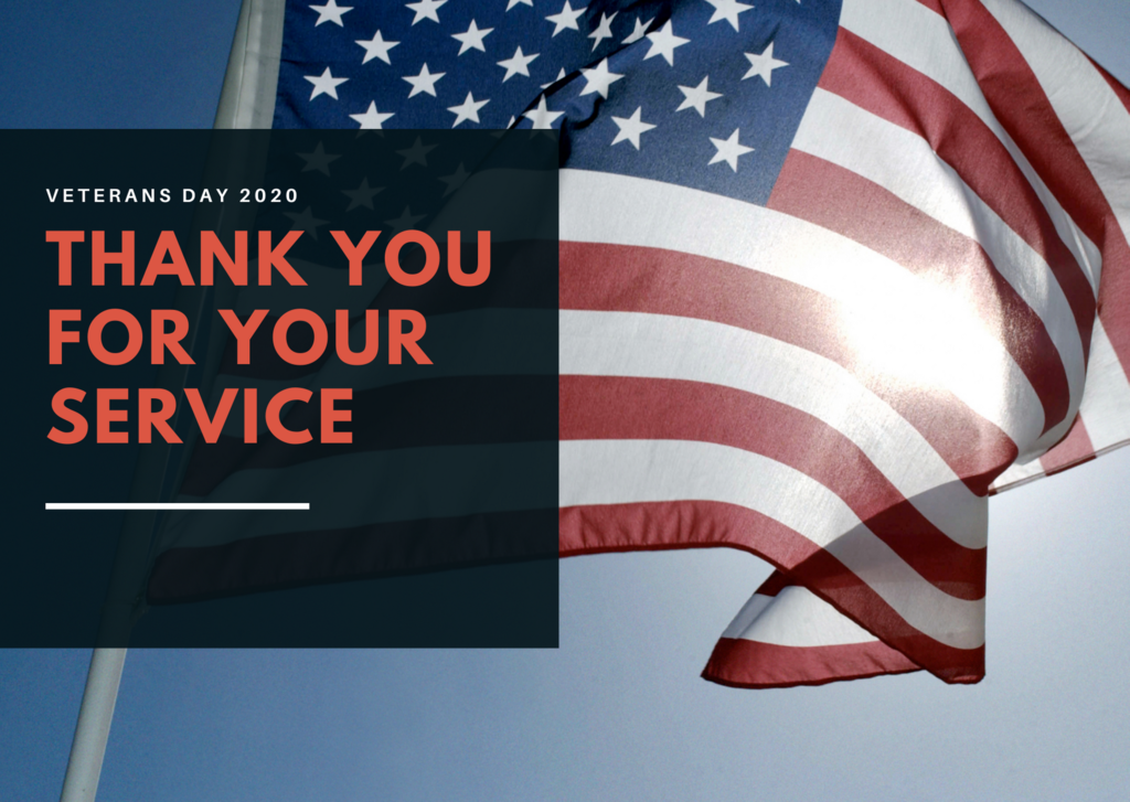 Salute to Veterans Day Graphic