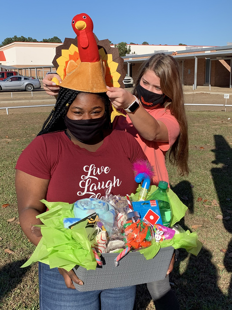 JaNay Cross wins turkey naming contest