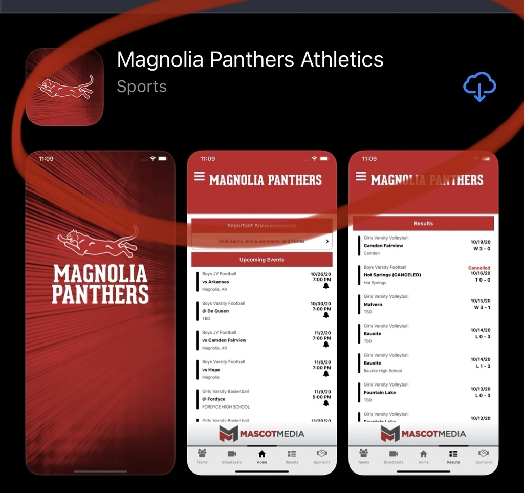 Panther Athletics App
