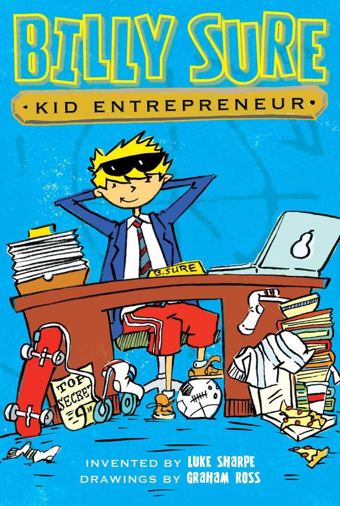 Billy Sure Kid Entrepreneur Book Cover Image