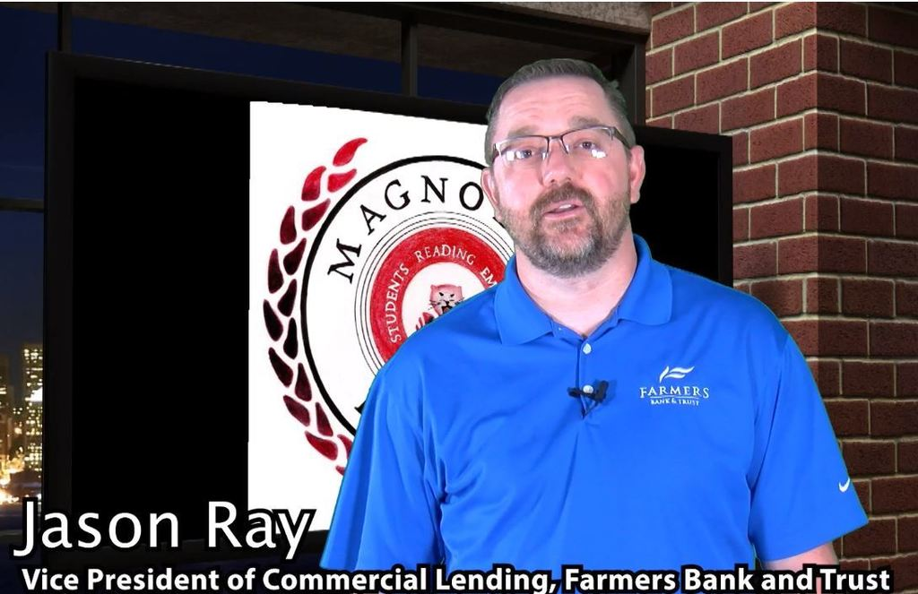 Magnolia READS-Farmers Bank-Jason Ray