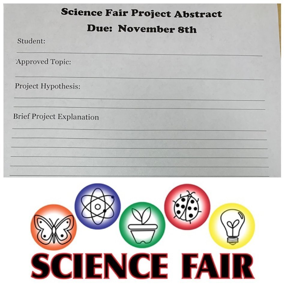 Information form for the Science Fair