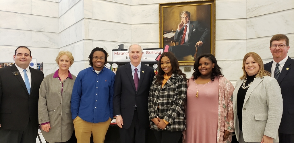 Governor Hutchinson stopped by for a visit. He was also the keynote speaker.