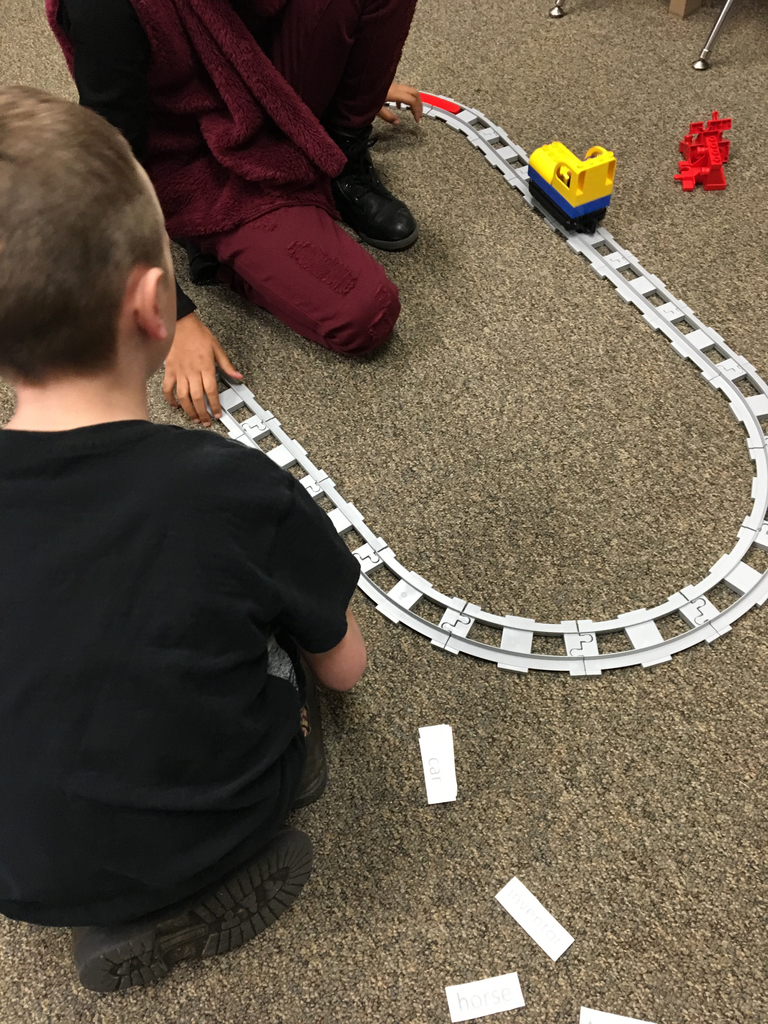LEGO Train syllable stops