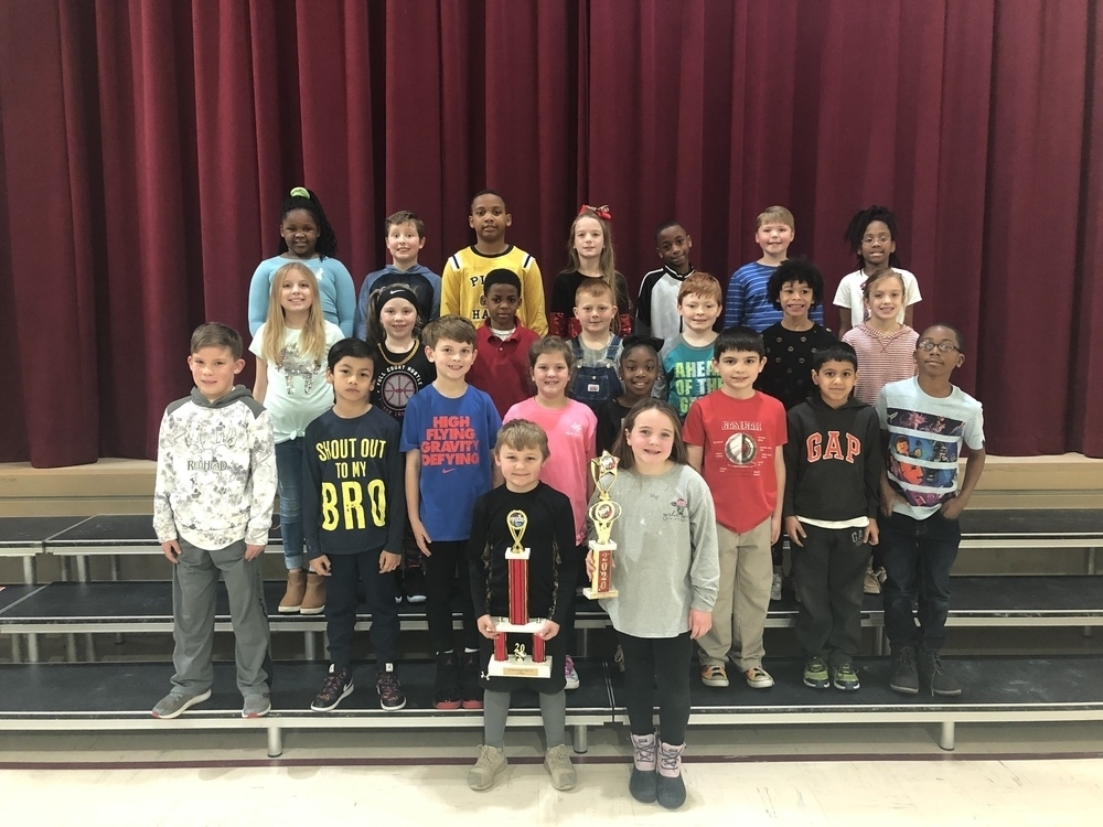 2020 3rd Grade Science Fair Winners