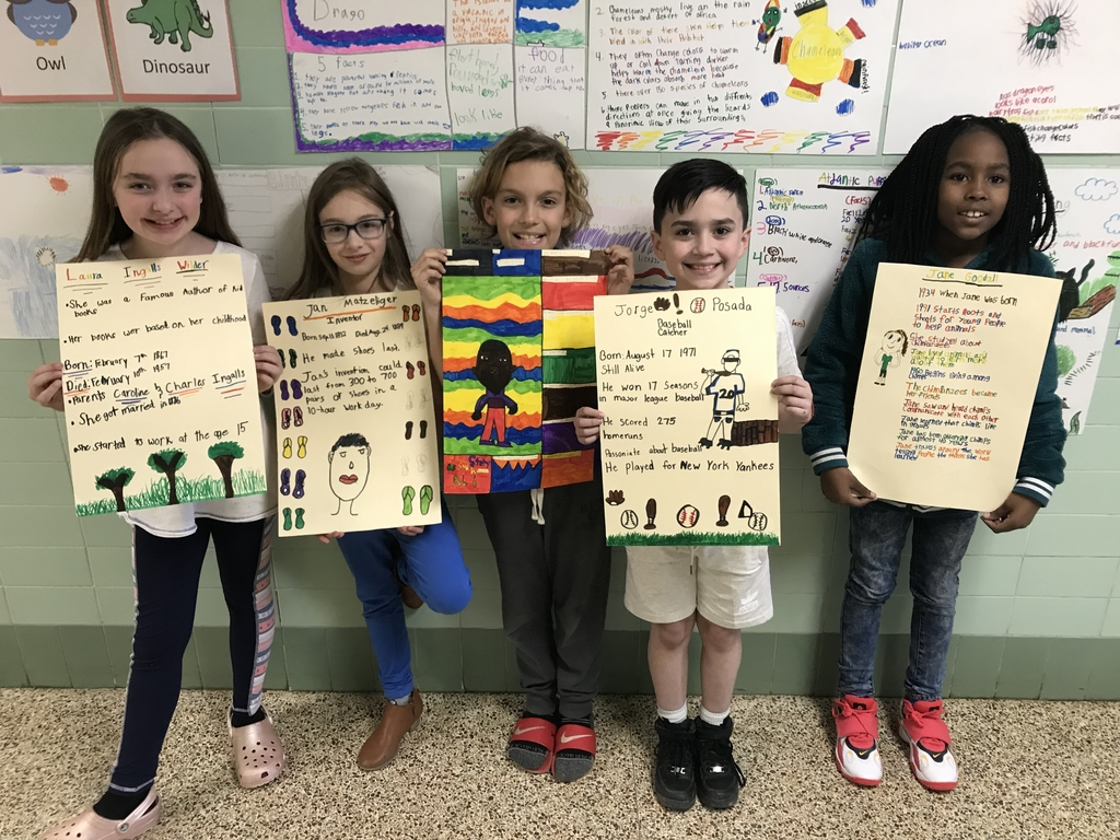 Some of our favorite Bibliographies we have been reading in Mrs. Arnold's class have been about Helen Keller, Jorge Possdo, Martin Luther King Jr., and Jan Matzeliger.