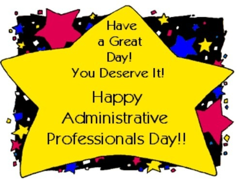 Clipart of Administrative Professionals Day