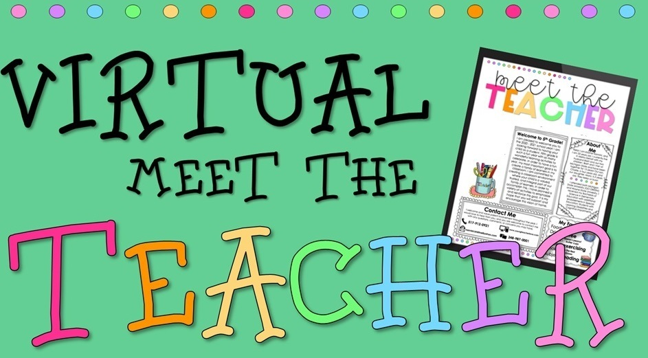 virtual meet the teacher sign