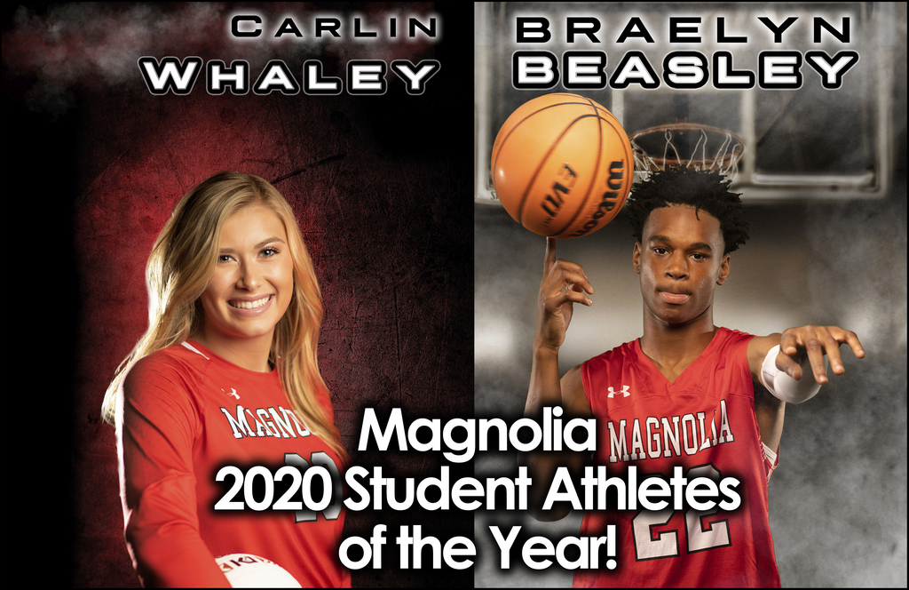 2020 Student Athletes of the Year