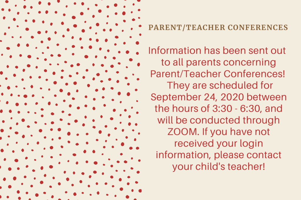 Parent/Teacher Conference Information