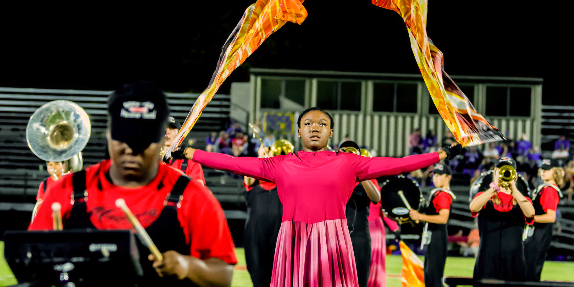 MHS Band Colorguard